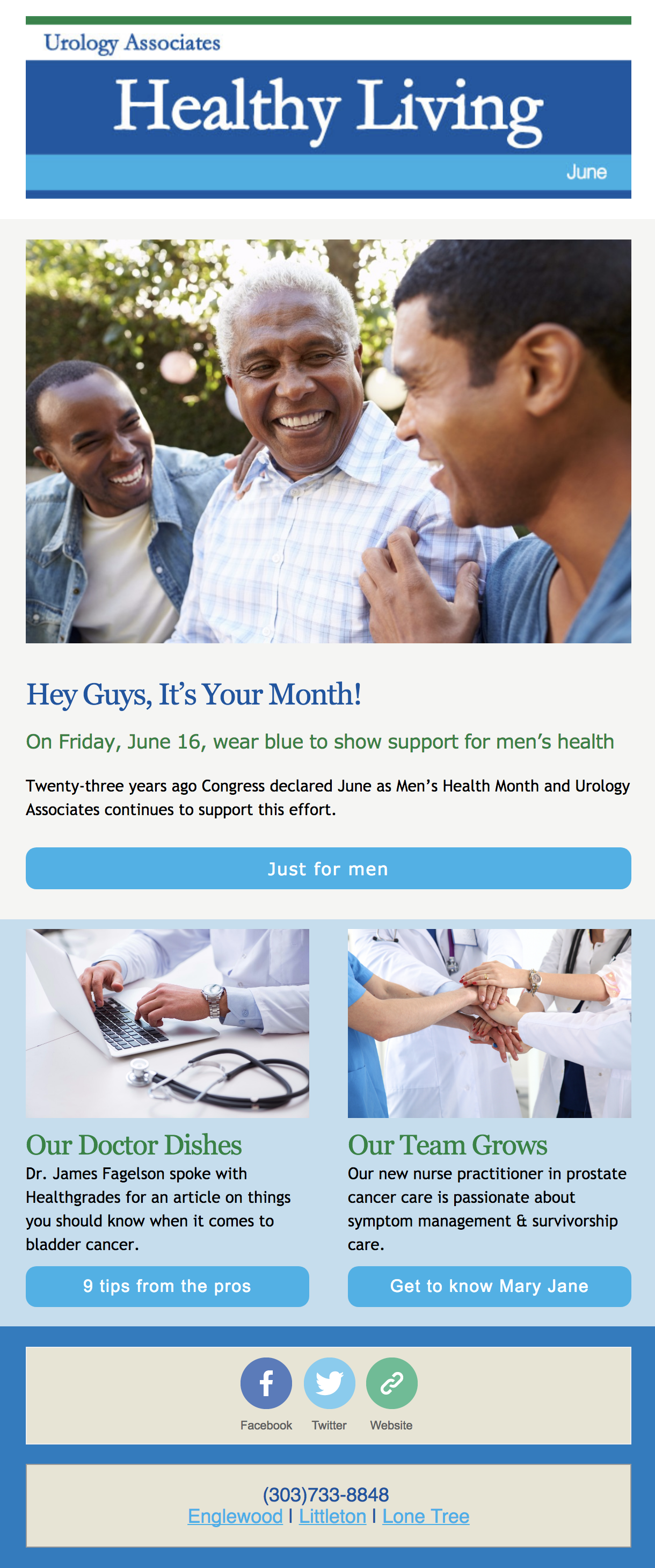 Urology Newsletter | Denver Urology